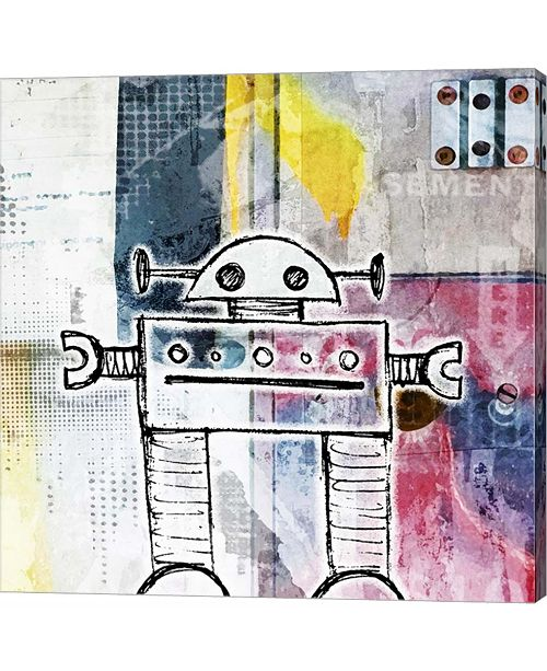 Metaverse Small Bot by Roseanne Jones Canvas Art