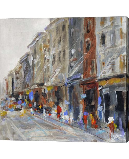 Metaverse Soho View by Solveiga Canvas Art