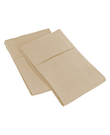 Superior Prestige 1500 Series Stripe Pillowcase Set - King - White