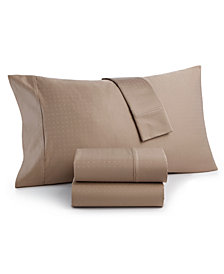 CLOSEOUT! Charter Club Sleep Luxe 700 Thread Count, Dobby Dot Standard Pillowcase Pair, 100% Egyptian Cotton, Created for Macy's