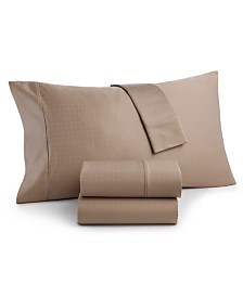 Charter Club Sleep Luxe 700 Thread Count, Dobby Dot King Pillowcase Pair, 100% Egyptian Cotton, Created for Macy's