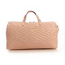 Allure Quilted Barrel Large Duffel, Created for Macy's