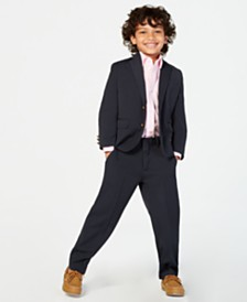 Tommy Hilfiger Little Boys Alexander Suit & Shirt