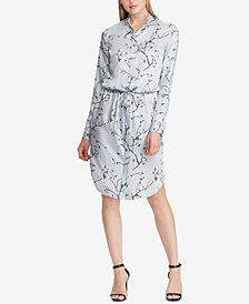 Lauren Ralph Lauren Printed Twill Shirtdress