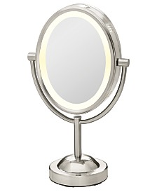 Conair Double-Sided 1x/7x Magnified Oval Mirror
