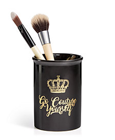 "Juicy Couture ""Go Couture Yourself"" Brush Holder"