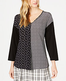 Weekend Max Mara Spoleto Printed Silk Blouse