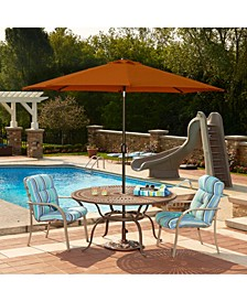 Mirage 9-Ft Octagonal Market Umbrella With Olefin Canopy