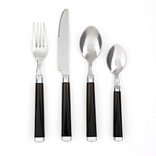 Temptation 16-Piece Flatware Set with Rack, Service for 4