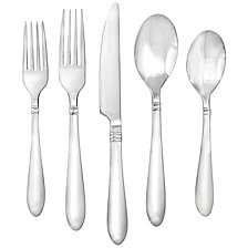 Farberware Annotto Satin Mirror 45-Piece Flatware Set