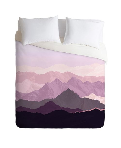 Deny Designs Iveta Abolina Sugar Plum Queen Duvet Set
