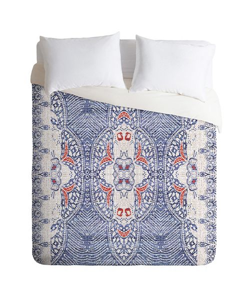 Deny Designs Holli Zollinger French Linen Zali King Duvet Set
