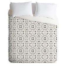 Deny Designs Holli Zollinger Mandala Tile Light Twin Duvet Set