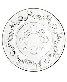 "La Rochere Versailles 5.5"" Diameter Bread Plate, Set of 6"