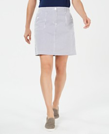 Karen Scott Printed Skort, Created for Macy's