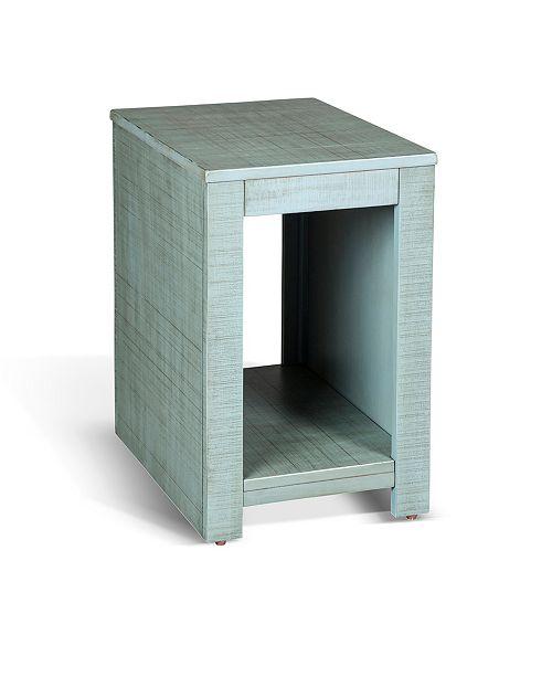 Sunny Designs Coleton Little Boy Blue Chair Side Table