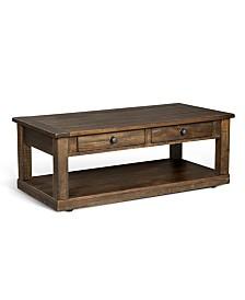 Homestead Tobacco Leaf Coffee Table