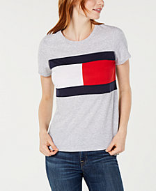 Tommy Hilfiger Sport Flag Colorblocked T-Shirt