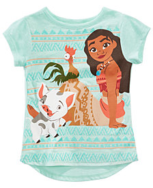 Disney Toddler Girls Moana Graphic-Print T-Shirt