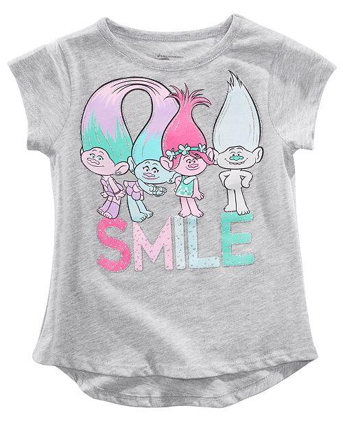 Trolls by DreamWorks Toddler Girls Smile T-Shirt