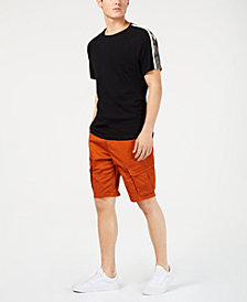 American Rag Belted Cargo Shorts & Crewneck T-Shirt, Created for Macy's