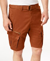 82f4562b6f American Rag Men's Belted Slim Cargo Shorts, Created for Macy's