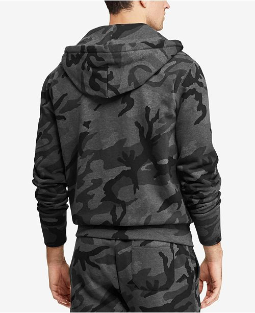 0a6439a1733e Polo Ralph Lauren Men s Camo Fleece Hoodie   Reviews - Hoodies ...