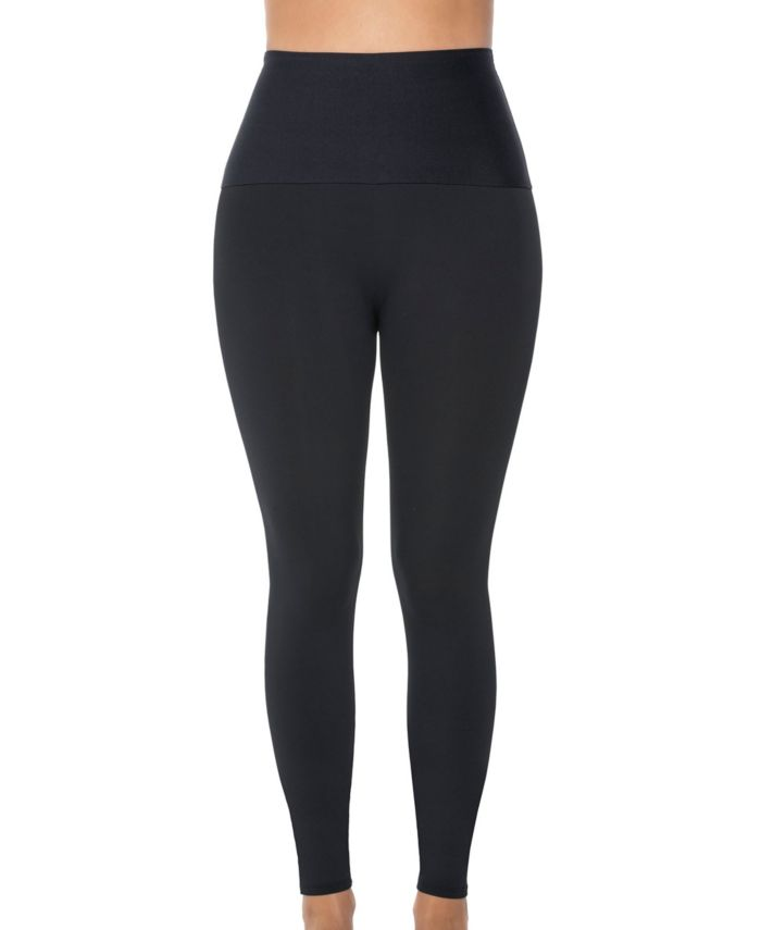 Leonisa Activelife Power Move Moderate Compression Mid-Rise Athletic Legging & Reviews - Bras, Panties & Lingerie - Women - Macy's