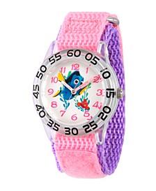 Disney Finding Dory Nemo and Dory Girls' Plastic Time Teacher Watch
