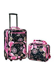 Rockland 2-Piece Pucci Luggage Set