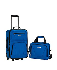 Rockland 2PCE Softside Luggage Set