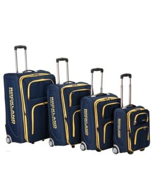 Rockland Varsity Polo 4-Pc. Rockland Softside Luggage Set