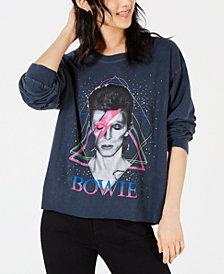True Vintage Cotton Bowie Graphic-Print T-Shirt