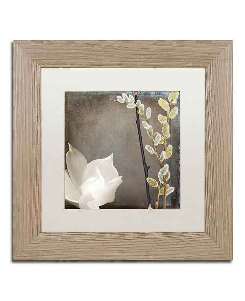 """Trademark Global Color Bakery 'India Ii' Matted Framed Art, 11"""" x 11"""""""