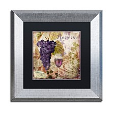 "Color Bakery 'Wine Country Iii' Matted Framed Art, 11"" x 11"""