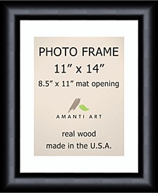 """Steinway Black 11"""" X 14"""" Matted 8.5"""" X 11"""" Opening Wall Picture Photo Frame"""