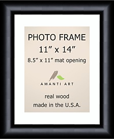 """Amanti Art Steinway Black 11"""" X 14"""" Matted 8.5"""" X 11"""" Opening Wall Picture Photo Frame"""