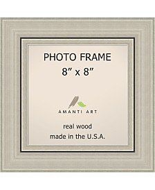 "Amanti Art Romano Silver 8"" X 8"" Opening Wall Picture Photo Frame"