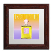 Color Bakery 'Colored Scents Ii' Matted Framed Art