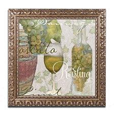 Color Bakery 'Wine Cellar Ii' Ornate Framed Art