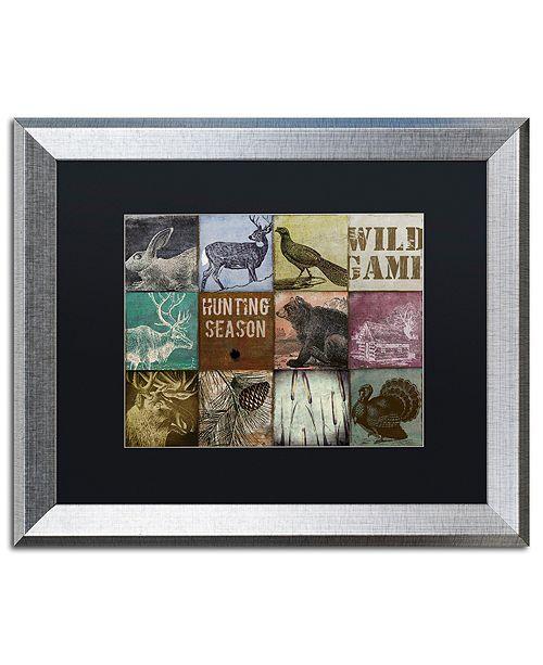 "Trademark Global Color Bakery 'Cabela Hunting Season 12' Matted Framed Art, 16"" x 20"""