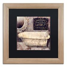 "Color Bakery 'Le Bain Paris I' Matted Framed Art, 16"" x 16"""