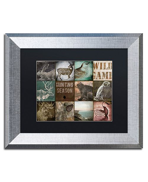 "Trademark Global Color Bakery 'Cabelas' Matted Framed Art, 11"" x 14"""