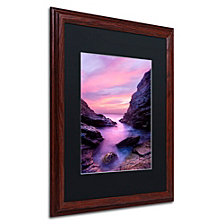 Michael Blanchette Photography 'Rocky Nook' Matted Framed Art
