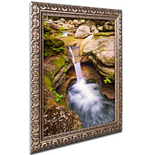 Michael Blanchette Photography 'Sabbaday Punchbowl' Ornate Framed Art