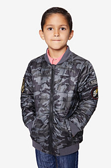 Buffalo Boys Diamond Quilted Bomber