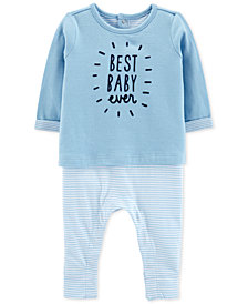 Carter's Baby Boys Layered-Look Coverall