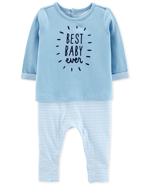 291e258a7 Carter s Baby Boys Layered-Look Coverall - All Baby - Kids - Macy s