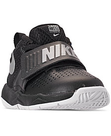 Nike Toddler Boys' Team Hustle D8 Basketball Sneakers from Finish Line