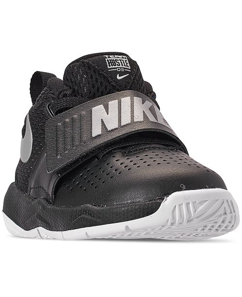 12bf8bc01403e Nike Toddler Boys' Team Hustle D8 Basketball Sneakers from Finish Line ...